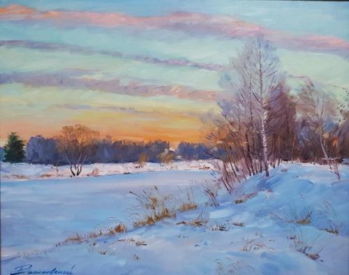 «Зима» Холст, масло, 40х50