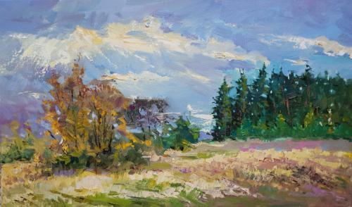 «Осень 2009» Холст, масло,60х40