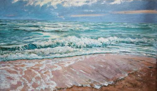 «Море» Холст, масло 100х60